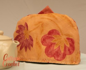Orange Thermal Tea Cosy