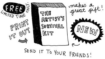 The Artist's Survival Kit by Keri Smith