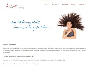 Brainstorm Eventagentur | Webdesign | Webconsulting