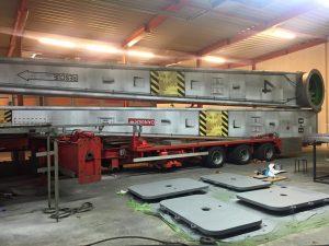 Propeller in de werkplaats ( bron: facebookpagina)