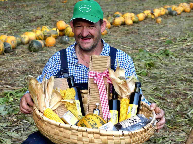 Pepi und seine Kürbiskernöl Produkte