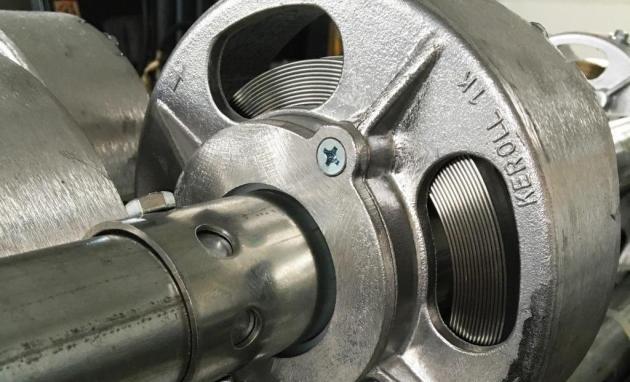 Keroll Kerger spring shaft