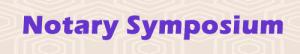 NotarySymposium.com logo
