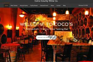 CoCoWineCo.com screenshot