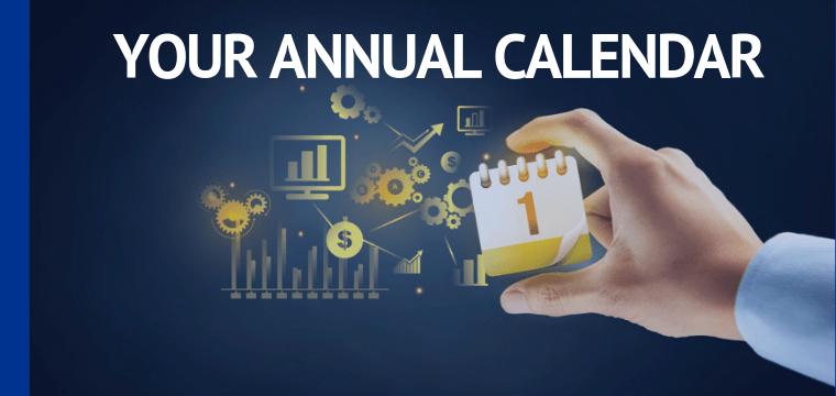 Your Annual Calendar