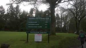 Killarney Golf Club entrance