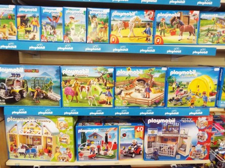 Playmobil at Kershaw's GC Toy Dept-2