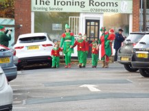 Here come the elves..