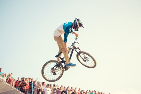 MTB Slopestyle am Olympiaberg | X-Games | Sportfotografie