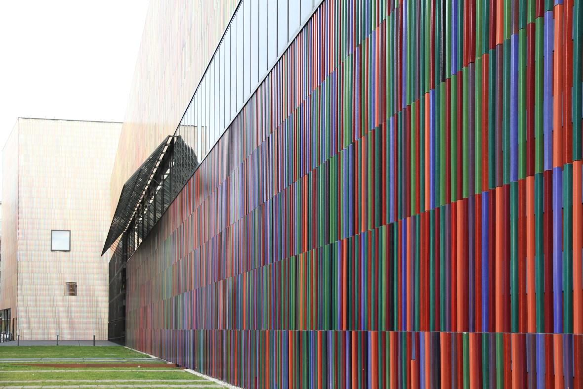 Architekturfotografie zum Museum Brandhorst München