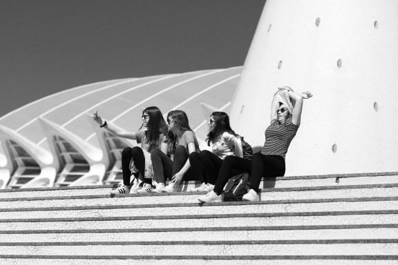 Valencia | Architektur von Santiago Calatrava | Architekturfotografie | Streetfotografie