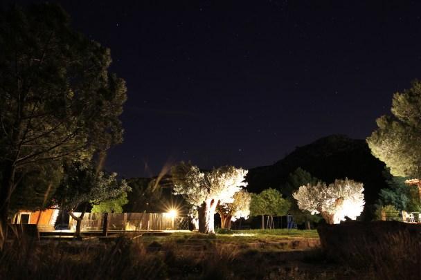 Chulilla Nachtaufnahme | Kletterfotografie