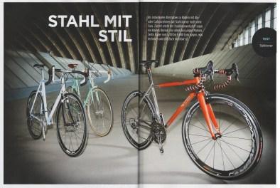 Stahl mit Stil Veröffentlichung TOUR Magazin