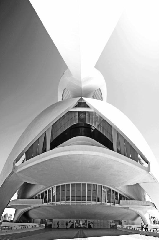Valencia | Architektur von Santiago Calatrava | Architekturfotografie
