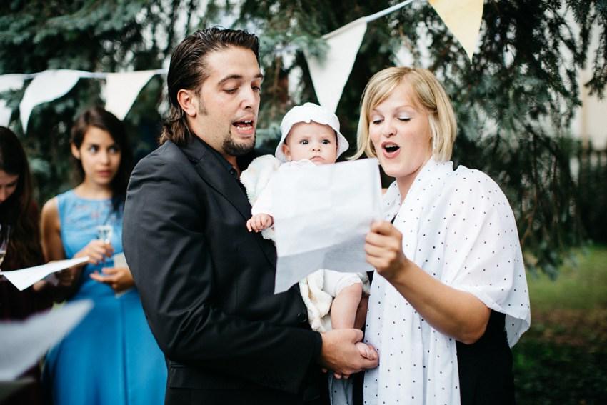 Kreative Hochzeit