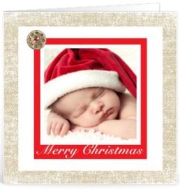 Kerst tekst liefde voor op een kaartje