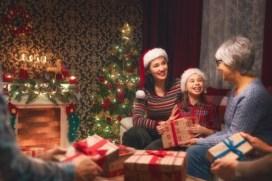 Kerst met opa en oma