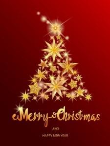 Kerst teksten sterren