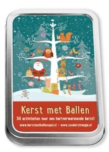 Kerst met Ballen - familiespel voor de Kerstvakantie - 3 jaar en ouder