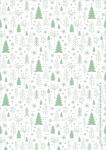 Kerst met Ballen Printable: Cadeaupapier #2