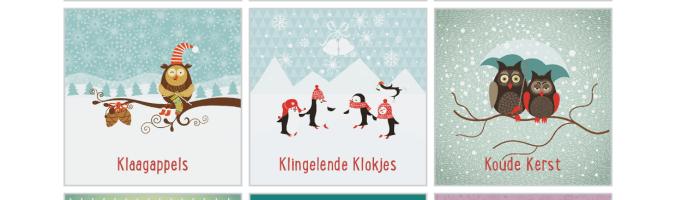 Kleintje Kerstspel - Spelkaarten Overzicht