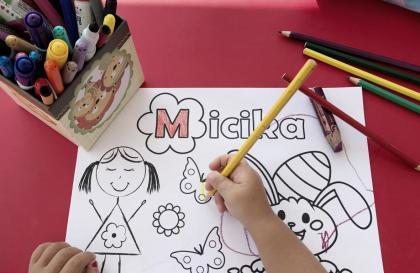 Malvorlage auf www.micika.si