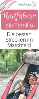 Radausflug als Familie - Die besten Strecken im Marchfeld