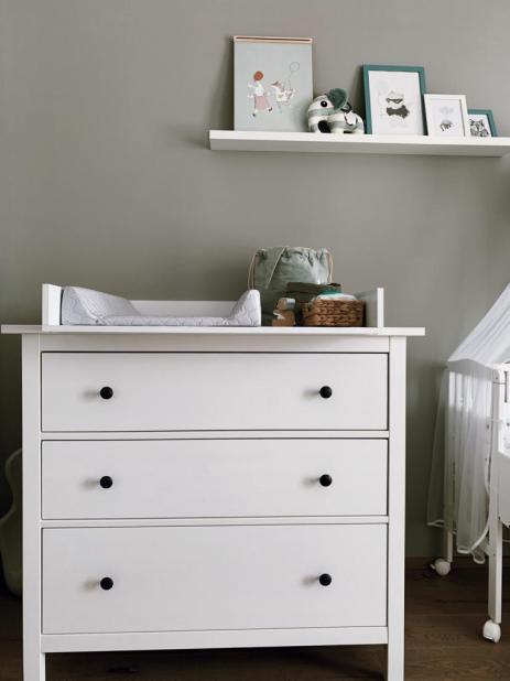 Ideen & Tipps für ein schönes Kinderzimmer, Babyzimmer, Wickeltisch