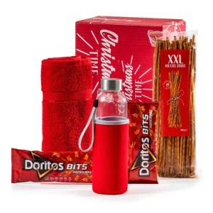 Sportief Rood kerstpakket