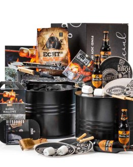BBQ Barrel kerstpakket