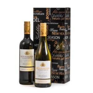 Montgolfier wijngeschenk