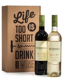 Sedosa wijngeschenk