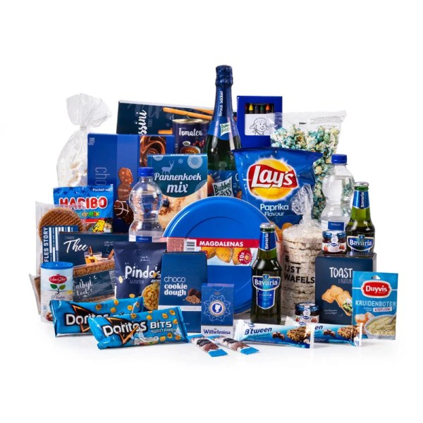 Groots in Blauw Kerstpakket