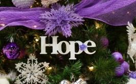 Kerst tekst hoop