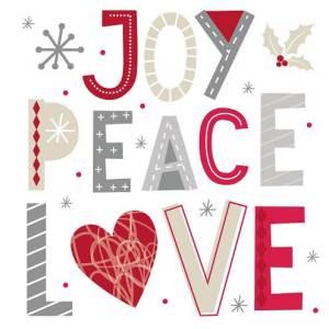 Kerst tekst vrede