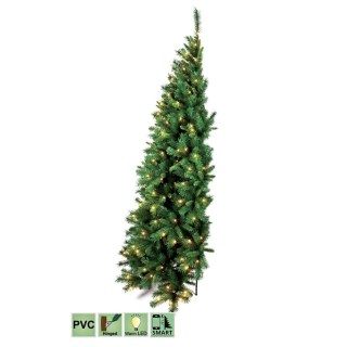 halve-wand-kunstkerstboom-dakota-pvc-smart-150-led-lampjes-150-cm