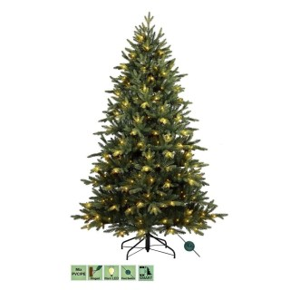 kunstkerstboom-arkansas-pe-pvc-premium-smart-200-led-lampjes-180-cm