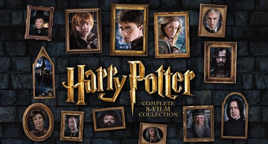 Harry-Potter-Complete 8-Film-Collection