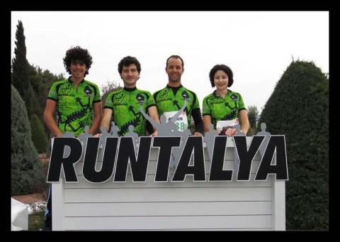Kertenkeleler tam takım Runtalya 2013'e katıldı!