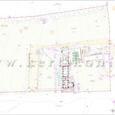 Kertépítészeti és tereprendezési terv; Kisapáti, Diska major: Ifjúsági szabadidő- és rendezvényközpont park