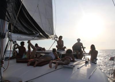 Sailing with Gitano Del Mar