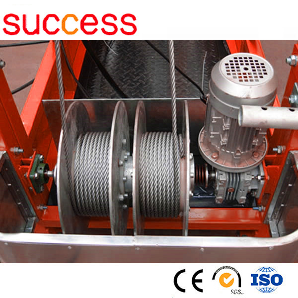 Suspension scaffold for sale/mini electric wire rope hoist ZLP500 ...