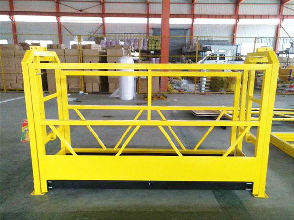 ZLP Suspension scaffold available/electric elevator wire rope hoist ...