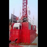 construction hoist 3d model