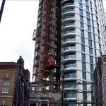 Construction Hoist Project Altitude Alie St London, UBS Hoists