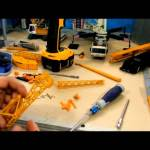 Crane Repaint Tutorial pt.2.3 (Liebherr ltm1200 tear down pt 3)
