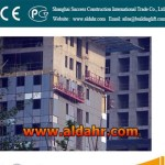 Galvanized Construction manual suspended platform
