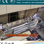 Glass Washing Machine suspended platform