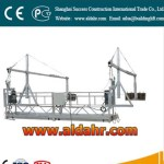 gondola lift Suspended Platform 6m window cleaning platform 630kg loading construction cradles