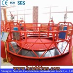 Height Work Adjustable Rope Suspended Platform